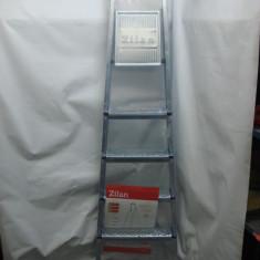 Scara/Schela constructii - Scara aluminiu 5+1...Scari