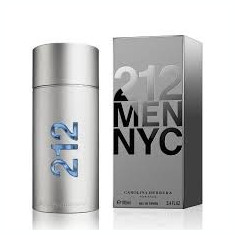 Parfum Original Men Carolina Herrera 212 100 ml EDT 240 Ron - Parfum barbati Carolina Herrera, Apa de toaleta
