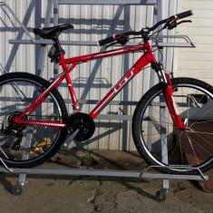 Mountain Bike Nespecificat, 26 inch, Numar viteze: 21, Otel, Rosu, MTB Full Suspension - Bicicleta GT Palomar