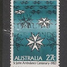 Australia.1983 100 ani Serviciul de ambulanta EA.204 - Timbre straine