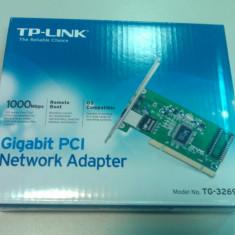 Placa de retea Tp-link, Intern, PCI - TP-LINK PLACA RETEA PCI 10/100/1000 GB GIGABIT TG-3269