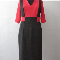 Vanzare rochie office, Culoare: Bleumarin
