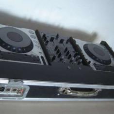 Vand PIONEER CDJ 800 MK2-2 buc, Mixer DJM 400 +CASE - Console DJ
