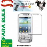 Folie de protectie Samsung Galaxy Chat B5330 MONTAJ iNCLUS in Pret