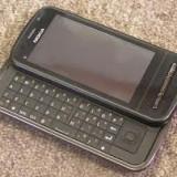 Nokia c6 - Telefon mobil Nokia C6, Negru, Neblocat