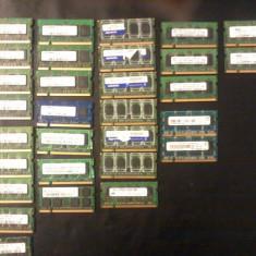 Memorie RAM DDR2 LAPTOP Memorii 2 X 1GB 667/800 MHZ TESTAT GARANTIE 12 LUNI !!! - Memorie RAM laptop, 2 GB, 667 mhz, Dual channel