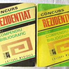CONCURS REZIDENTIAT. COMPENDIU BIBLIOGRAFIC. Profil Medicina Generala, Vol. I+II