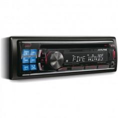 Radio CD MP3, USB, Bluetooth, Front AUX, Alpine CDE-123R - CD Player MP3 auto