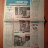 Ziarul muncitorul sanitar 30 august 1980
