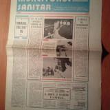 Ziarul muncitorul sanitar 11 iulie 1981