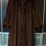 Palton dama, Maro, Bumbac - Vand blana de nurca NOUA!!!