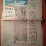 Ziarul muncitorul sanitar 9 august 1980