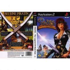 Joc original PS2 Pirates - The Legend of Black Kat (12+) Deutsch 1-2 players (transport gratuit la comanda de 3 jocuri diferite) - Jocuri PS2 Sony, Actiune, Multiplayer