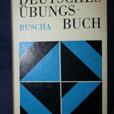 Buscha DEUTSCHES UBUNGSBUCH Leipzig 1985 cartonata
