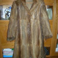 Haina de blana - Palton dama, Marime: 44, Culoare: Maro, Maro