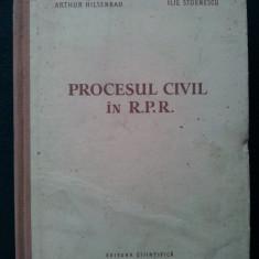 Procesul civil in R.P.R. - 1957 - Carte Drept civil