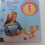 CARTE BARBIE - CAT ESTE CEASUL - EDITURA EGMONT - Carte educativa