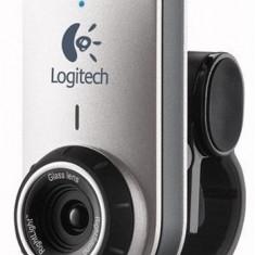 Webcam Logitech QuickCam Deluxe for Notebooks, 1.3 Mpx- 2.4 Mpx, CCD, Microfon