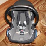 Scoica auto maxi cosi cabrio fix de la 0 luni - Scaun auto bebelusi grupa 0+ (0-13 kg) Maxi Cosi, 0-6 luni, Negru, Opus directiei de mers