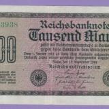 2. Germania 1000 mark 1922 EROARE RCI NU ERI