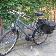Bicicleta De Dama, 16 inch, 26 inch, Numar viteze: 7, Otel, Violet - Bicicleta dama