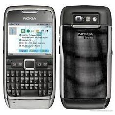 Nokia E71 Grey Steel - Telefon mobil Nokia E71, Negru, Neblocat