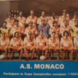 Foto echipa de fotbal AS MONACO `88-`89