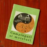 Brosura - Campinguri si Moteluri - - oficiul national de turism - 1968