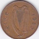 Moneda Irlanda 2 Pence 1982 - KM#21 VF