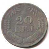 Monede Romania, An: 1942 - ROMANIA 20 LEI 1942 ZINC NR. 2 **