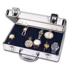 SAFE aluminium valiza pentru 12 ceasuri - Cutie Ceas