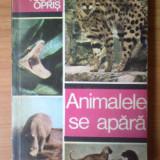 Carte Biologie - E0 Animalele se apara - Tudor Opris