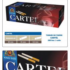 CARTEL 200 - Pachet 10 cutii tuburi tigari pentru injectat tutun x 200 buc. - Foite tigari