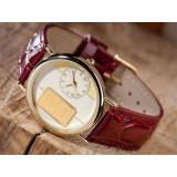 Ceas unisex - Ceas Yves Camani cu lingou din aur masiv