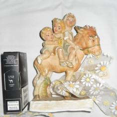 Figurina veche alabastru splendida - Bibelou vechi