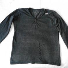 Bluza barbati Zara, M, Anchior, Bumbac, Negru - Bluza Zara originala marimea M 38