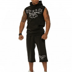 Trening de vara hip hop Thug Life - Trening barbati, Marime: XXL, Culoare: Negru