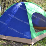Cort 4 Persoane, Impermeabil, Ideal  Pescuit, Padure, Camping.