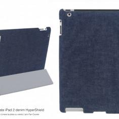 Capac protectie spate iPad 2 denim HyperShield original compatibila cu Apple Smart Cover snap-on Garantia de Livrare - Husa Tableta