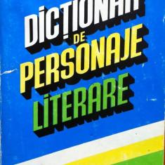 DICTIONAR DE PERSONAJE LITERARE - Constanta Barboi, Silvestru Boatca, Marieta Popescu