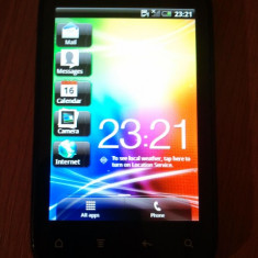Htc explorer a310e functioneaza perfect stare impecabil - Telefon HTC, Negru, Neblocat, 512 MB