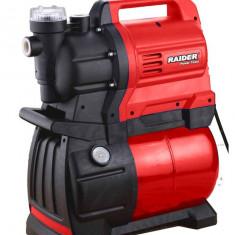 070125-Hidrofor electronic / pompa de apa Raider Power Tools, Cu turatie variabila pentru ridicarea presiunii