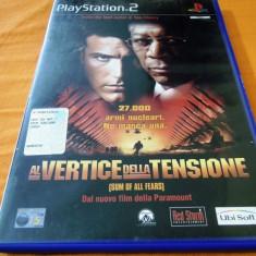 Joc The Sum of All Fears, PS2, original, alte sute de jocuri! - Jocuri PS2 Ubisoft, Actiune, 16+, Single player