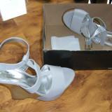 sandale superbe italiene ENZO BERTINI fabricate in Brazilia, piele naturala, marimea 37 mega reducere de pret