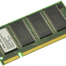 Memorie RAM laptop Micron, DDR, 256 MB - Memorie laptop 256MB DDR1 266 MHz (PC2100) Mosel Vitelic V826632B24SATG-B0, SODIMM 200 pini