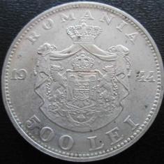 Monede Romania - (1104) ROMANIA 500 LEI 1944 REGELE MIHAI - MONEDA DIN ARGINT