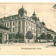 1540 - L i t h o, ORADEA, Jewish shop, cart - old postcard - used - 1900 - Carte Postala Crisana pana la 1904, Circulata, Printata
