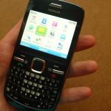 Nokia c3 + Nokia 2610 - Telefon mobil Nokia C3, Negru, Neblocat