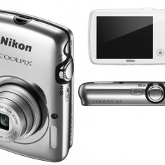 Oferta! Nikon CoolPix S01 Silver Nou! - Aparat Foto compact Nikon, Ultracompact, 10 Mpx, 3x, Sub 2.4 inch