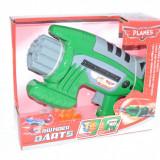 Pistol mitraliera cu ventuze din spuma - Pistol de jucarie, 4-6 ani, Plastic, Unisex